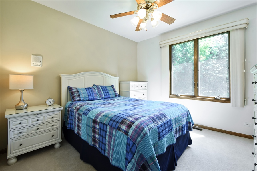 Real Estate Photography - 27948 W Kelsey Rd, Lake Barrington, IL, 60010 - Guest House Bedroom