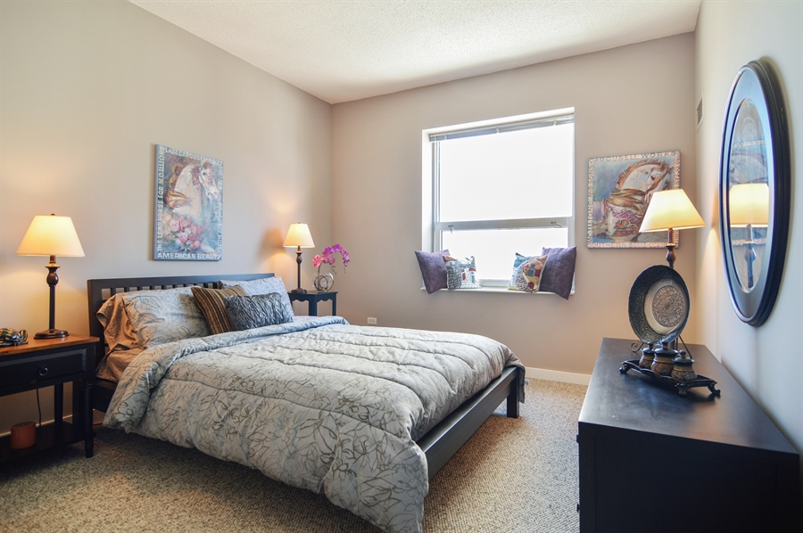 Real Estate Photography - 545 N Dearborn St, Apt 3502, Chicago, IL, 60654 - 3rd Bedroom