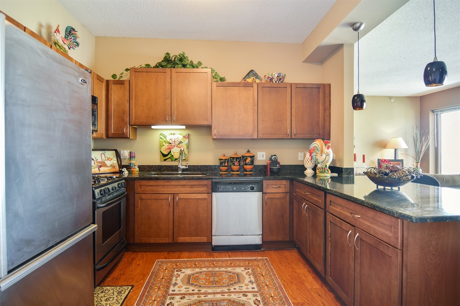 Real Estate Photography - 545 N Dearborn St, Apt 3502, Chicago, IL, 60654 - Kitchen