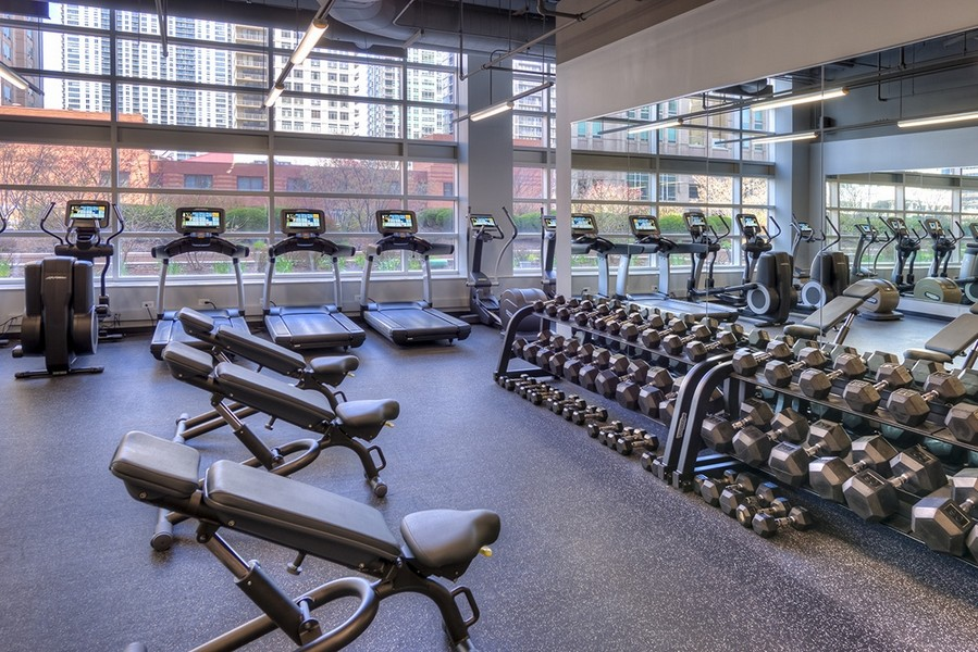Real Estate Photography - 545 N Dearborn St, Apt 3502, Chicago, IL, 60654 -