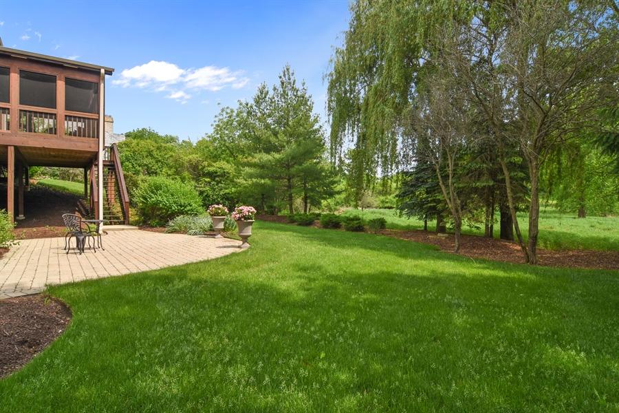 Real Estate Photography - 20843 W. High Ridge, Kildeer, IL, 60047 - Patio