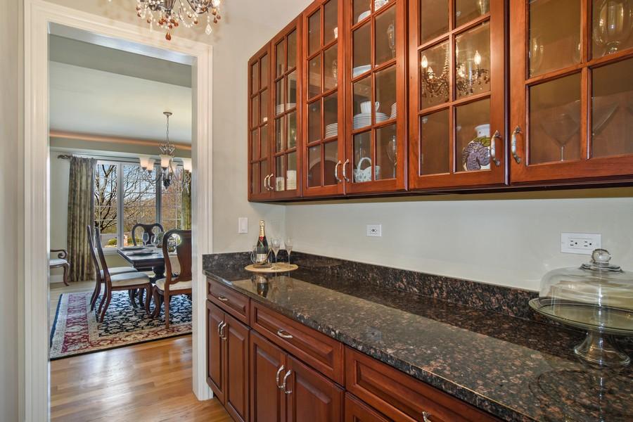 Real Estate Photography - 20843 W. High Ridge, Kildeer, IL, 60047 - Butler's Pantry