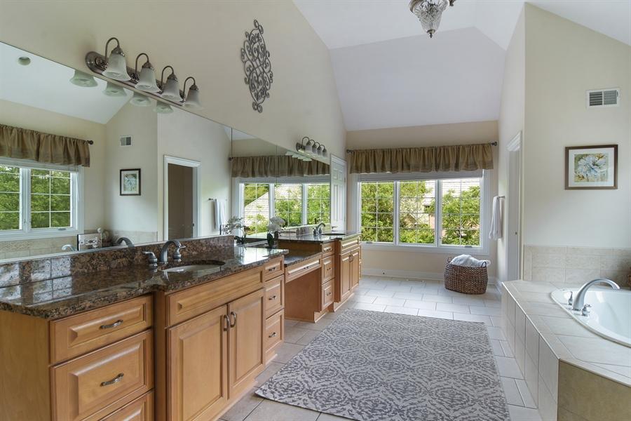 Real Estate Photography - 20843 W. High Ridge, Kildeer, IL, 60047 - Master Bathroom