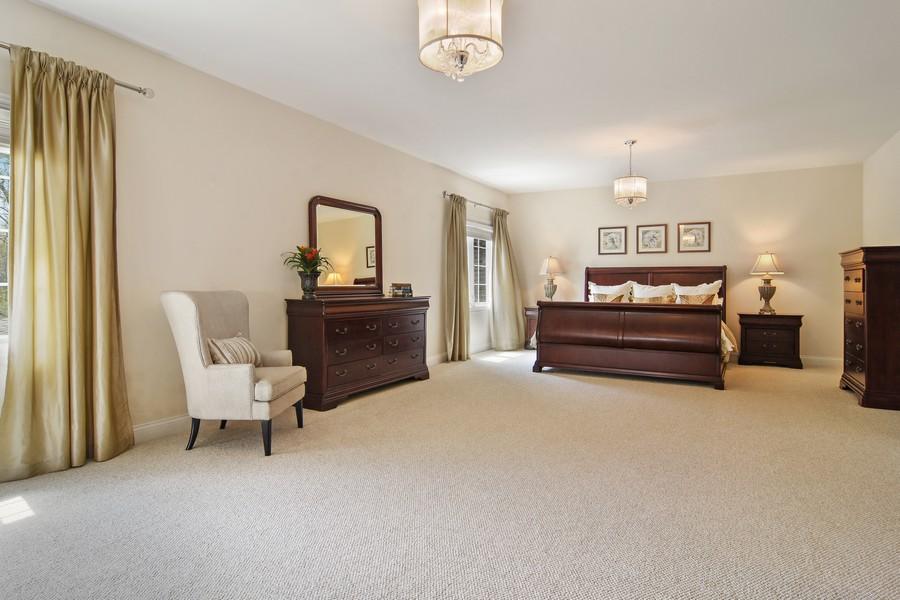 Real Estate Photography - 20843 W. High Ridge, Kildeer, IL, 60047 - Master Bedroom