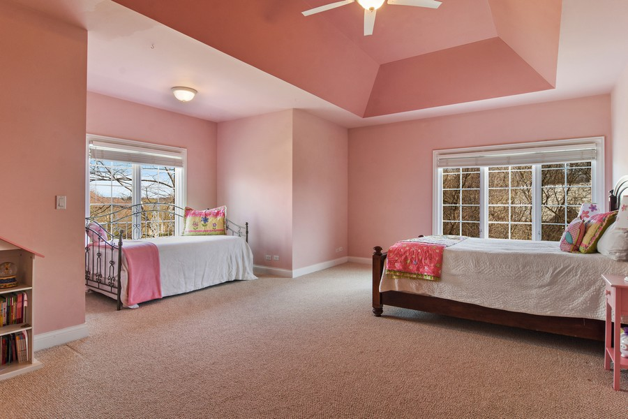 Real Estate Photography - 20843 W. High Ridge, Kildeer, IL, 60047 - 2nd Bedroom