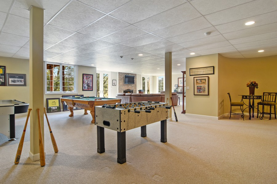 Real Estate Photography - 20843 W. High Ridge, Kildeer, IL, 60047 - Game Room