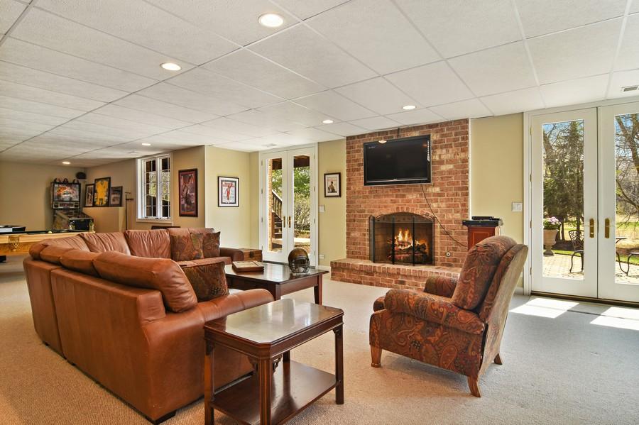 Real Estate Photography - 20843 W. High Ridge, Kildeer, IL, 60047 - Recreation Room