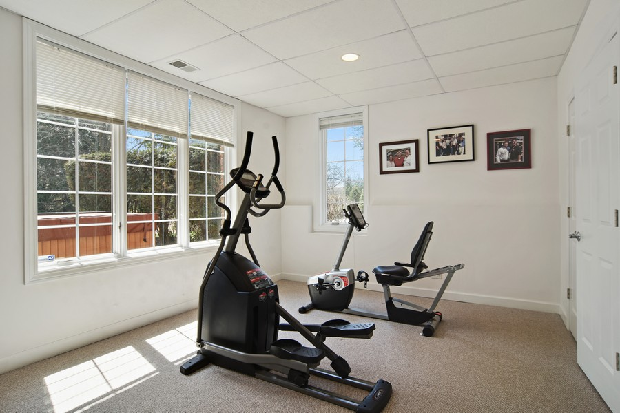 Real Estate Photography - 20843 W. High Ridge, Kildeer, IL, 60047 - Exercise Room