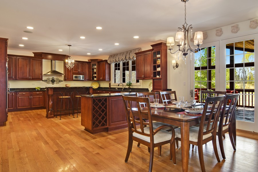 Real Estate Photography - 20843 W. High Ridge, Kildeer, IL, 60047 - Kitchen / Breakfast Room