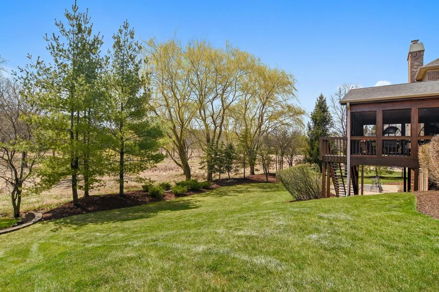 Real Estate Photography - 20843 W. High Ridge, Kildeer, IL, 60047 - Back Yard