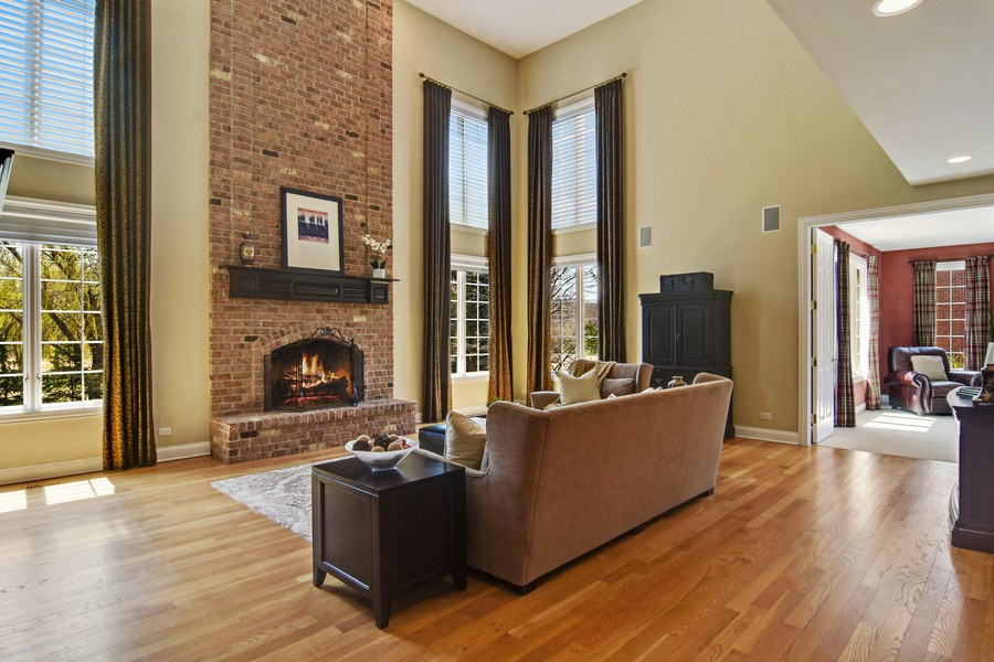 Real Estate Photography - 20843 W. High Ridge, Kildeer, IL, 60047 - Family Room