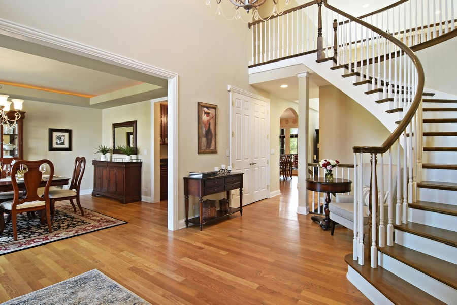 Real Estate Photography - 20843 W. High Ridge, Kildeer, IL, 60047 - Foyer