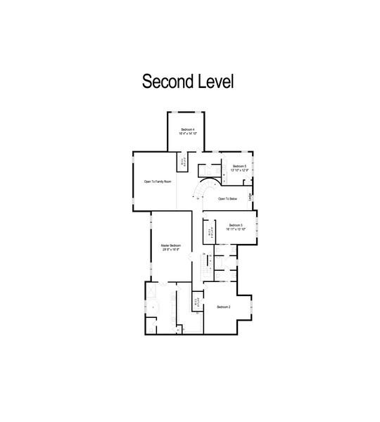Real Estate Photography - 20843 W. High Ridge, Kildeer, IL, 60047 - Floor Plan