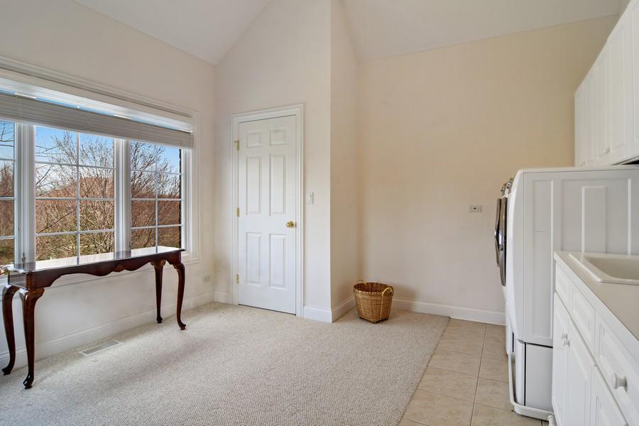 Real Estate Photography - 20843 W. High Ridge, Kildeer, IL, 60047 - Laundry Room