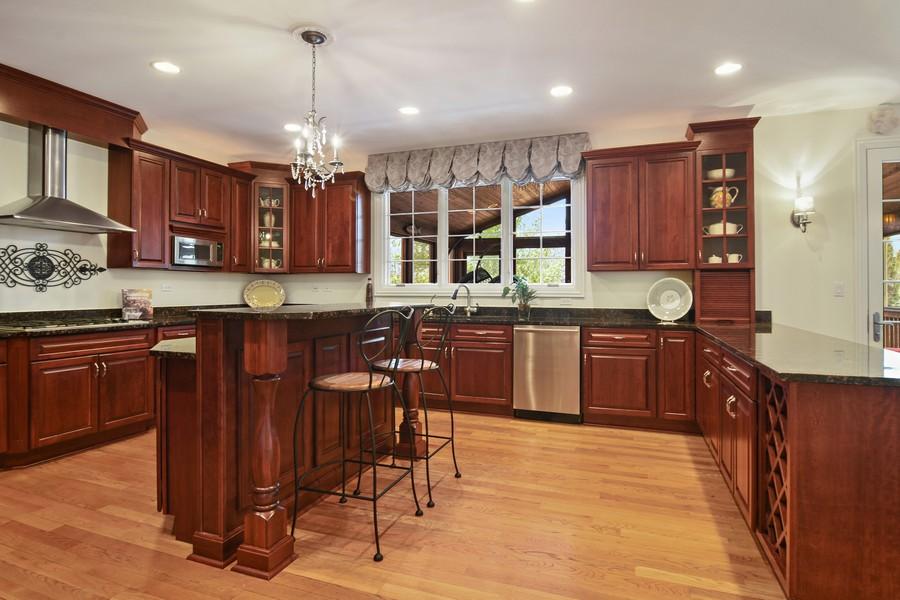 Real Estate Photography - 20843 W. High Ridge, Kildeer, IL, 60047 - Kitchen