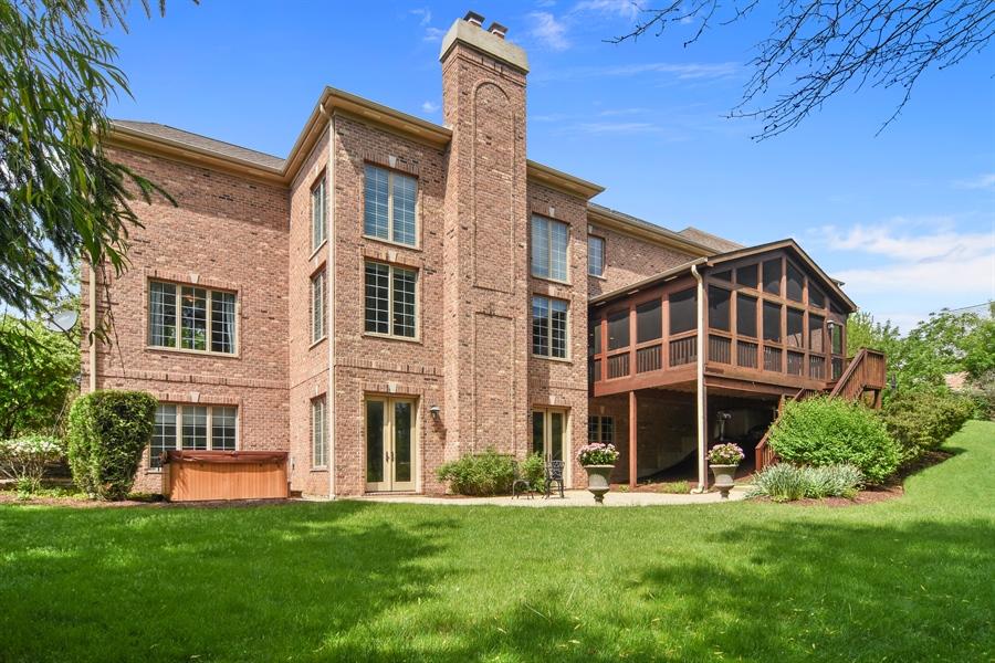 Real Estate Photography - 20843 W. High Ridge, Kildeer, IL, 60047 - Rear View