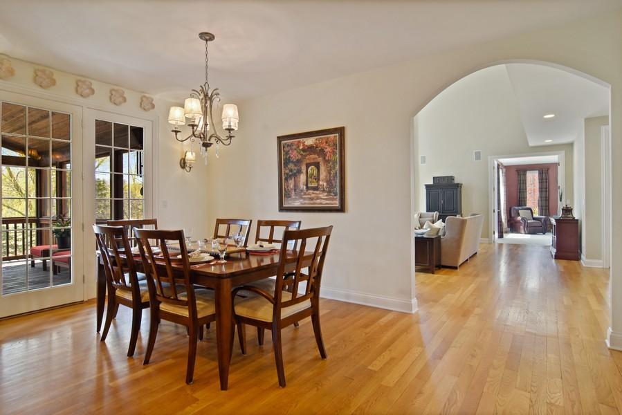 Real Estate Photography - 20843 W. High Ridge, Kildeer, IL, 60047 - Breakfast Room