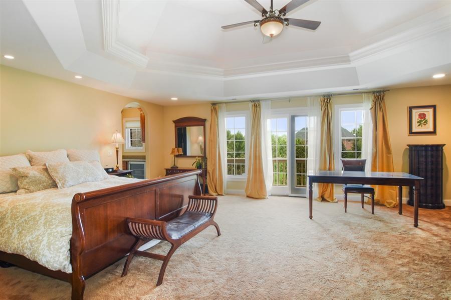 Real Estate Photography - 22358 N. Prairie Lane, Kildeer, IL, 60047 - Master Bedroom
