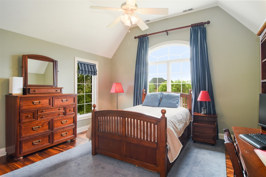 Real Estate Photography - 22358 N. Prairie Lane, Kildeer, IL, 60047 - 4th Bedroom