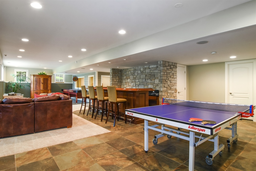 Real Estate Photography - 22358 N. Prairie Lane, Kildeer, IL, 60047 - Game Room