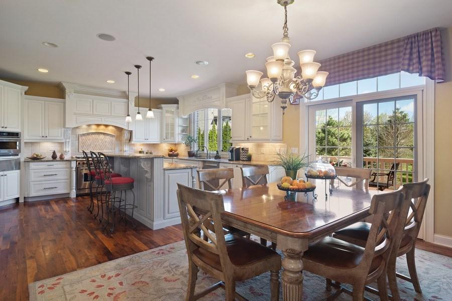 Real Estate Photography - 22358 N. Prairie Lane, Kildeer, IL, 60047 - Kitchen / Breakfast Room