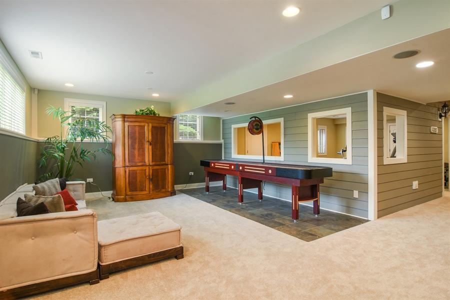 Real Estate Photography - 22358 N. Prairie Lane, Kildeer, IL, 60047 - Recreation Room