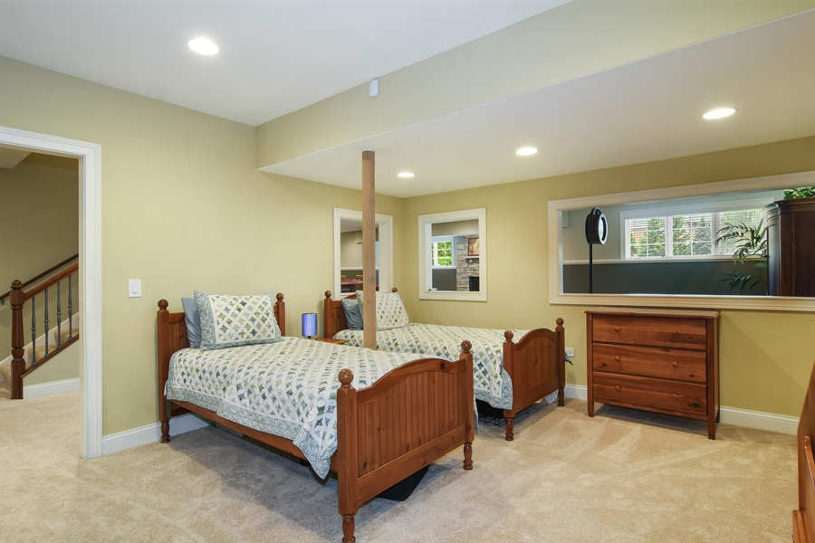 Real Estate Photography - 22358 N. Prairie Lane, Kildeer, IL, 60047 - Play Room / Bedroom