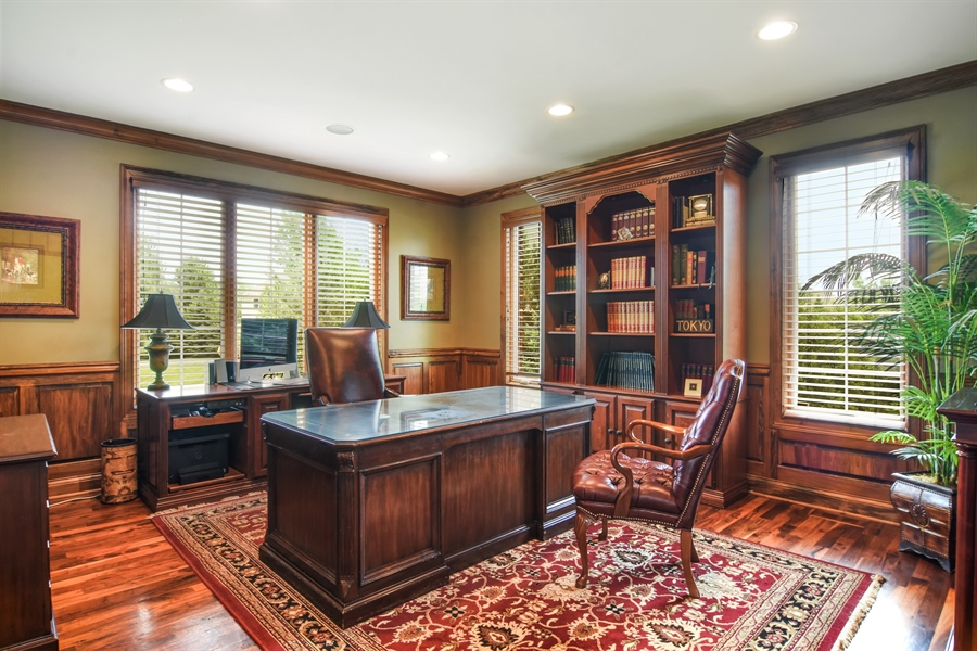 Real Estate Photography - 22358 N. Prairie Lane, Kildeer, IL, 60047 - Office