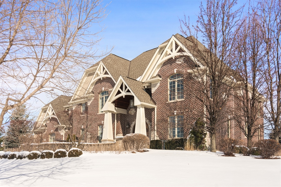 Real Estate Photography - 22358 N. Prairie Lane, Kildeer, IL, 60047 - Front View