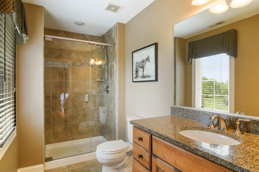Real Estate Photography - 22358 N. Prairie Lane, Kildeer, IL, 60047 - 3rd Bathroom