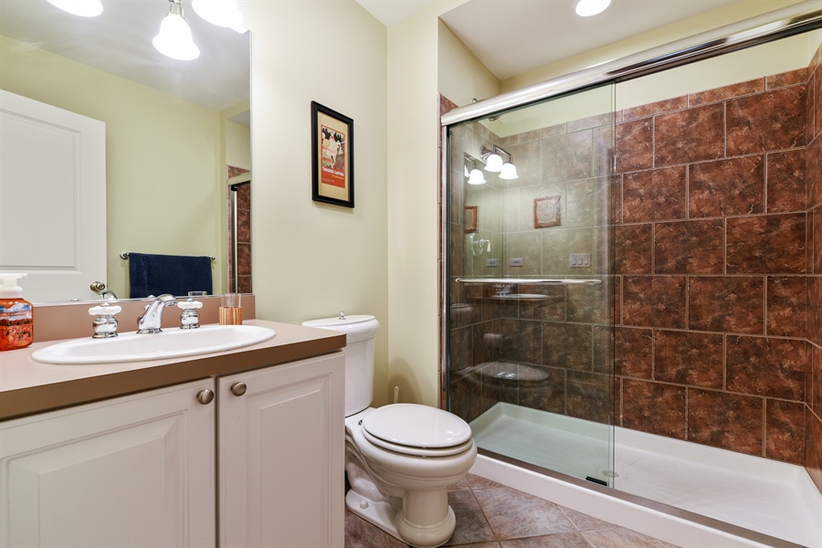 Real Estate Photography - 349 woodland ct, palatine, IL, 60067 - 3rd Bathroom
