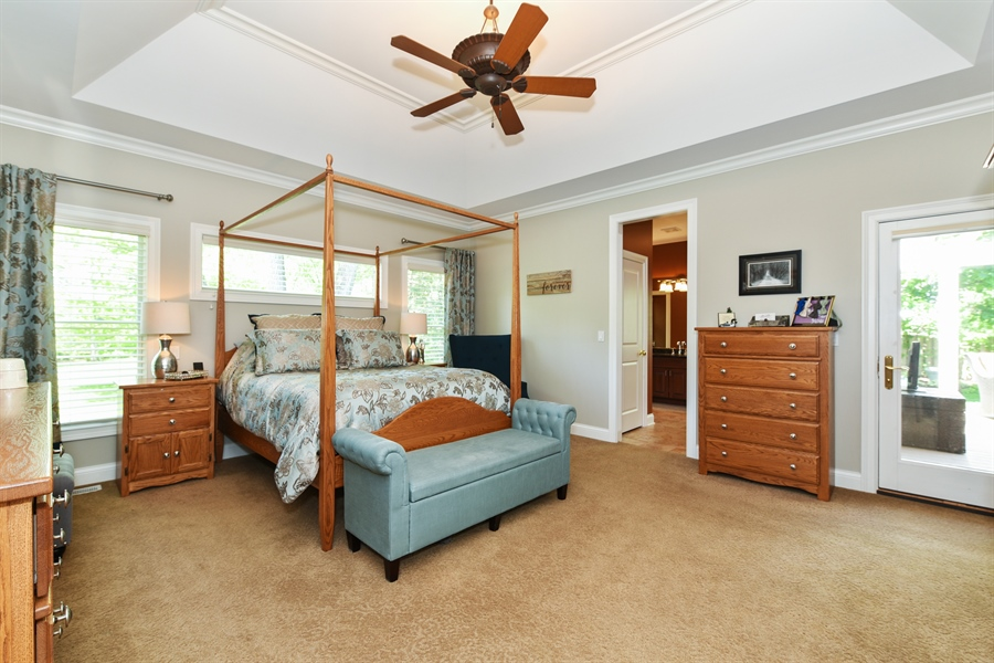 Real Estate Photography - 349 woodland ct, palatine, IL, 60067 - Master Bedroom
