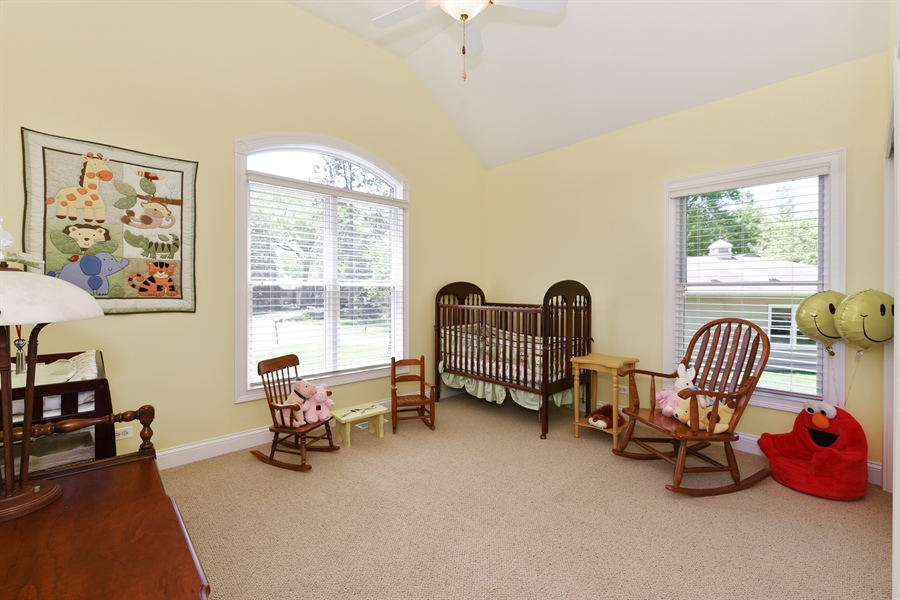 Real Estate Photography - 349 woodland ct, palatine, IL, 60067 - 2nd Bedroom