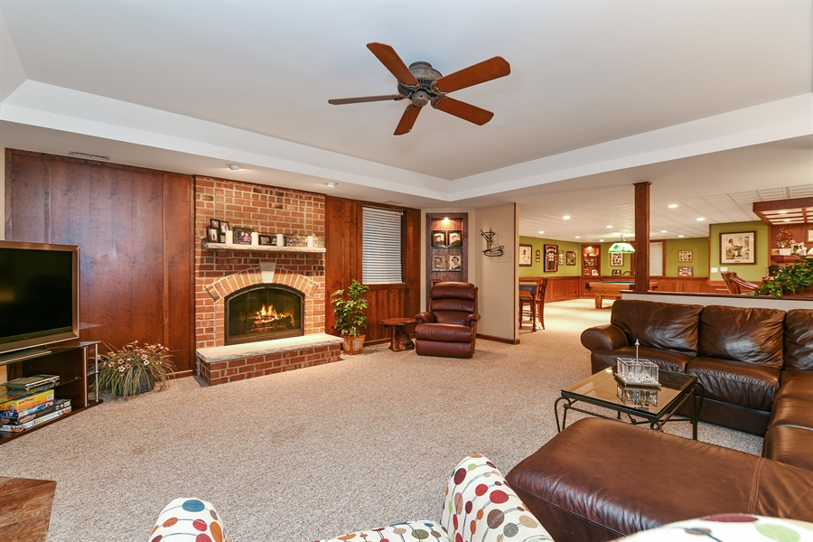 Real Estate Photography - 349 woodland ct, palatine, IL, 60067 - Recreational Room