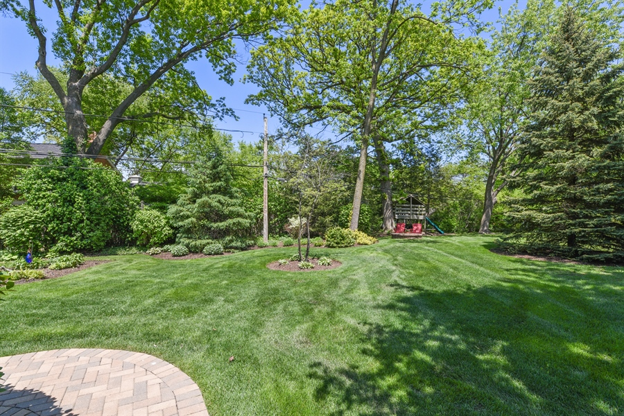 Real Estate Photography - 349 woodland ct, palatine, IL, 60067 - Back Yard