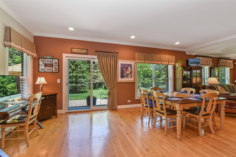 Real Estate Photography - 349 woodland ct, palatine, IL, 60067 - Dining Area