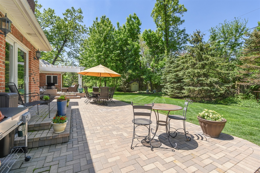 Real Estate Photography - 349 woodland ct, palatine, IL, 60067 - Patio