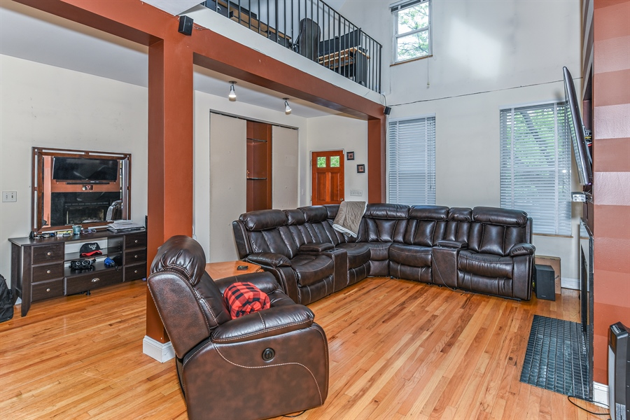Real Estate Photography - 1416 N. Greenview, Chicago, IL, 60642 - Living Room