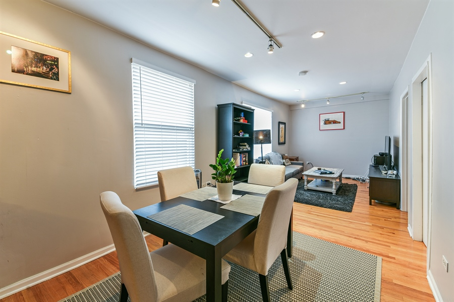 Real Estate Photography - 1416 N. Greenview, Chicago, IL, 60642 - Dining Room