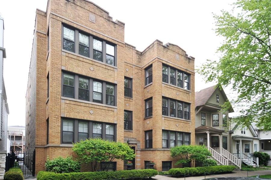 Real Estate Photography - 3933 N Marshfield Ave, Unit 2s, Chicago, IL, 60613 - Front View