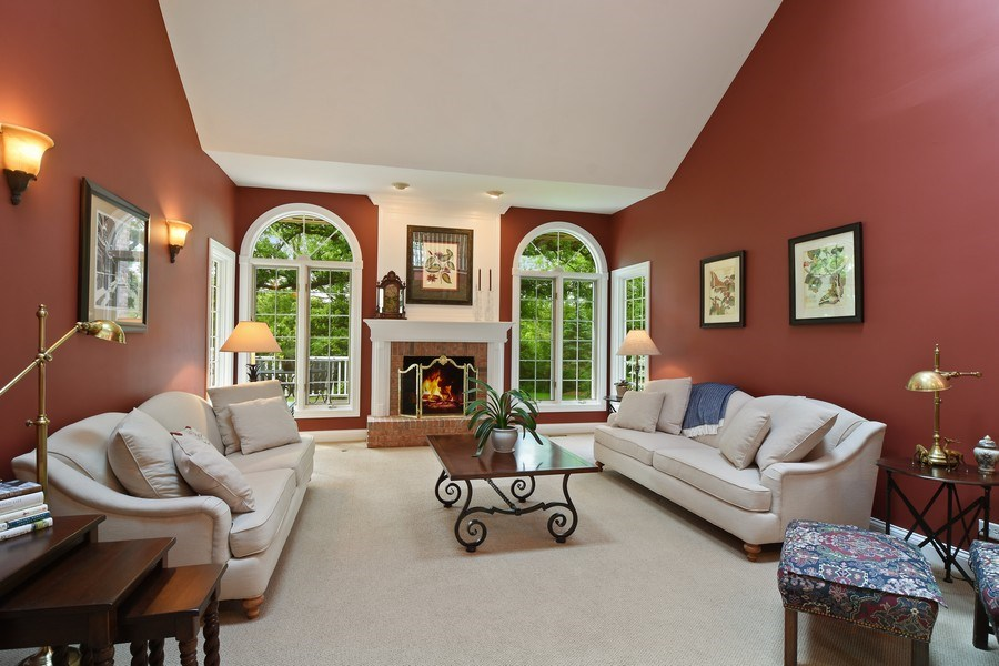 Real Estate Photography - 28367 W Heritage Oaks Rd, Barrington, IL, 60010 - Living Room