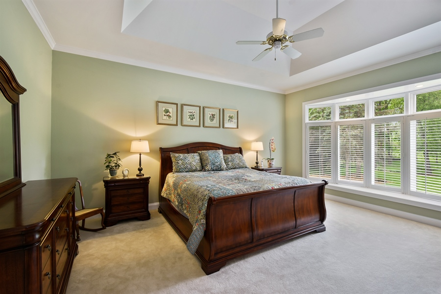 Real Estate Photography - 28367 W Heritage Oaks Rd, Barrington, IL, 60010 - Master Bedroom