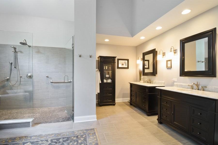 Real Estate Photography - 28367 W Heritage Oaks Rd, Barrington, IL, 60010 - Master Bathroom