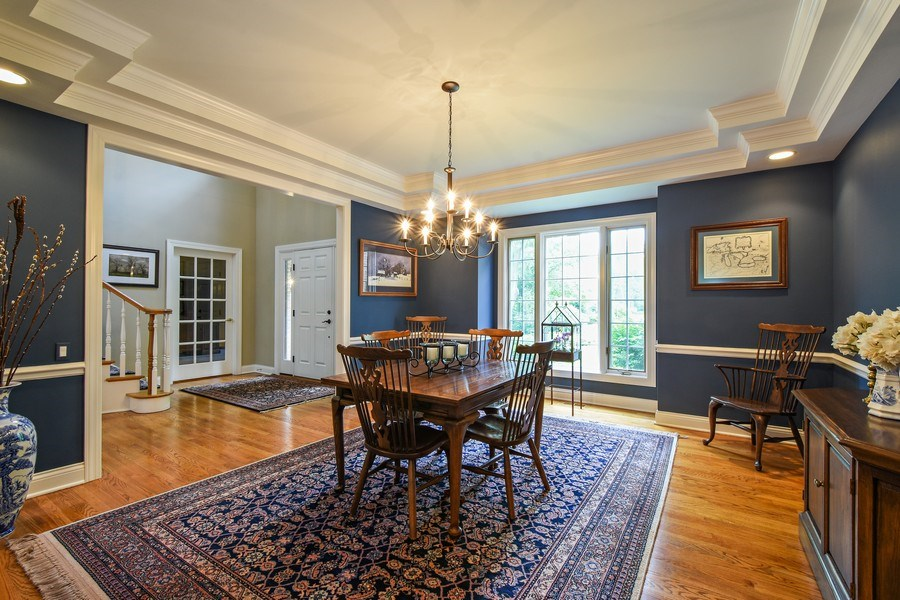 Real Estate Photography - 28367 W Heritage Oaks Rd, Barrington, IL, 60010 - Dining Room