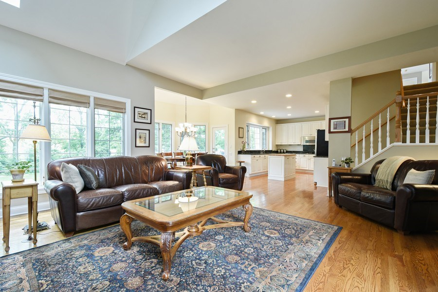 Real Estate Photography - 28367 W Heritage Oaks Rd, Barrington, IL, 60010 - Family Room