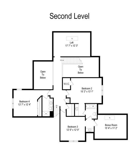 Real Estate Photography - 28367 W Heritage Oaks Rd, Barrington, IL, 60010 - Floor Plan