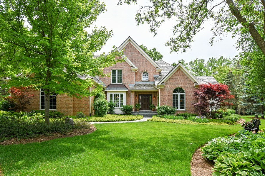 Real Estate Photography - 28367 W Heritage Oaks Rd, Barrington, IL, 60010 - Front View