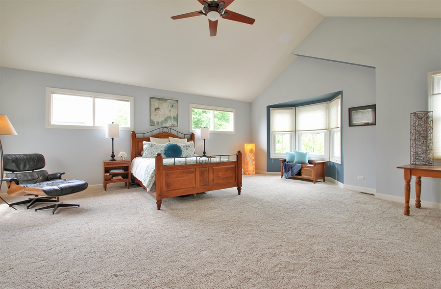 Real Estate Photography - 2223 Thistle, Glenview, IL, 60026 - Master Bedroom