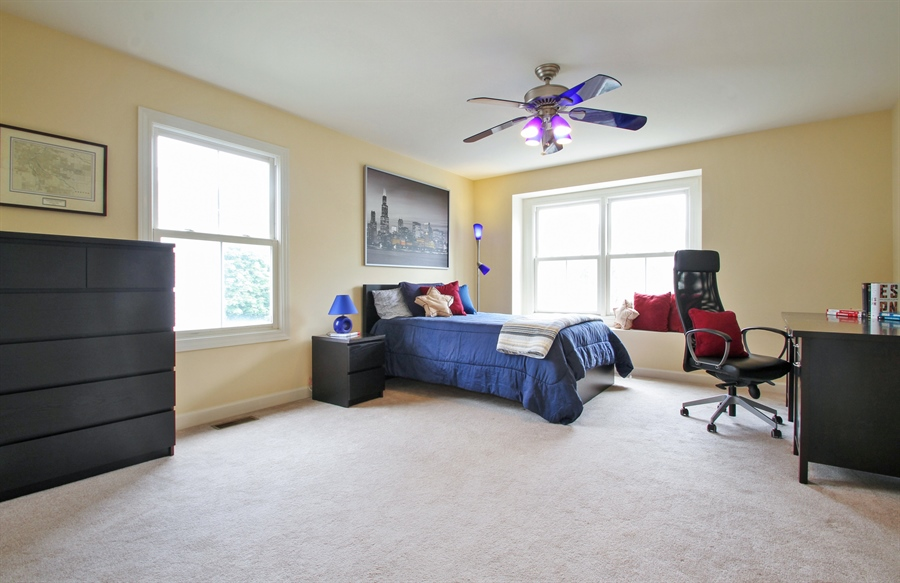 Real Estate Photography - 2223 Thistle, Glenview, IL, 60026 - 2nd Bedroom