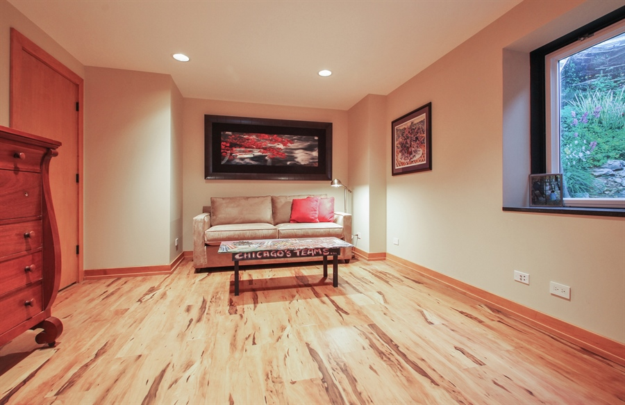 Real Estate Photography - 2223 Thistle, Glenview, IL, 60026 - Bedroom 5 in Lower Level